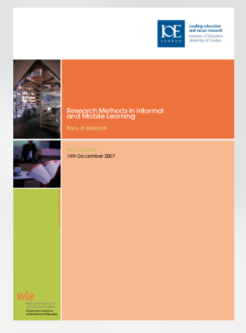 Learner Centred Design: Applying MobileHCI and Mobile Design Research Methods in Mobile and Informal Learning Contexts